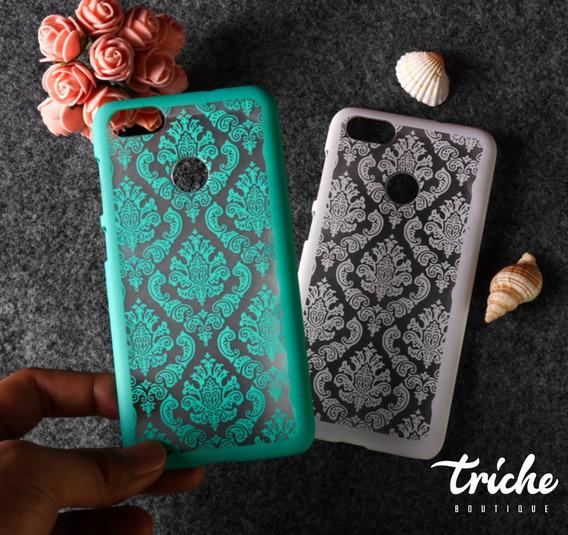 Funda Case Vintage Flores Color Mandala Huawei G Elite Plus