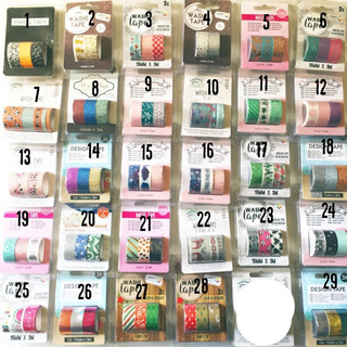Cinta Washi Tape Journal Decorativas Scrapbooking Adhesiva