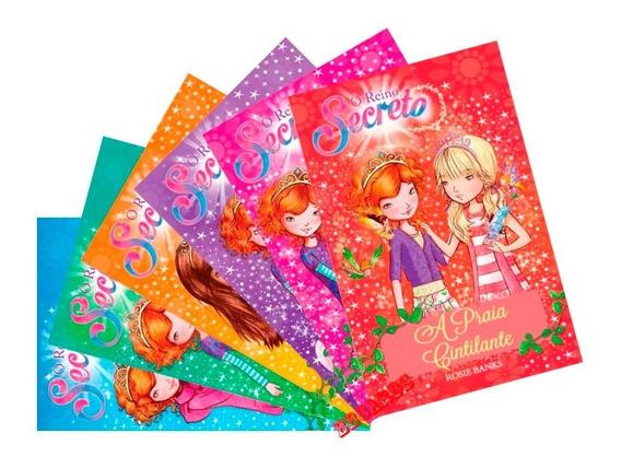 O Reino Secreto 6 Volumes Série 1 Mundo Mágico Diversão!