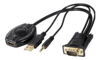 Cable Conversor Vga + Audio A Hdmi Nm-c63 - Netmak