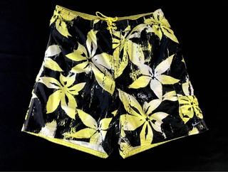 Traje De Baño Nike Xxl Premium Floral Pattern Detalle Drifit