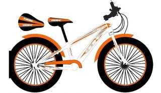 Bicicleta Sbk Fat Rodado 20 - La Plata