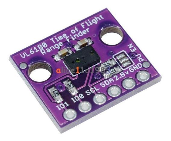 Vl6180 Telémetro Laser De Alta Precisión Distancia Arduino