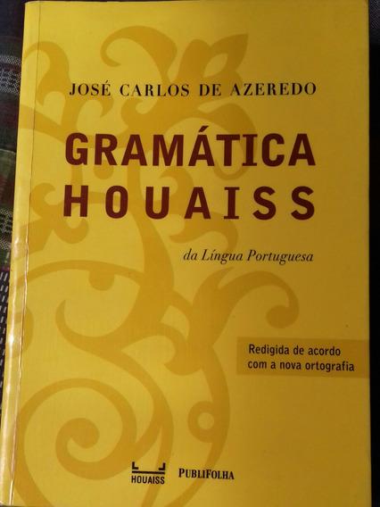 Livro Gramática Houaiss Da Língua Portuguesa