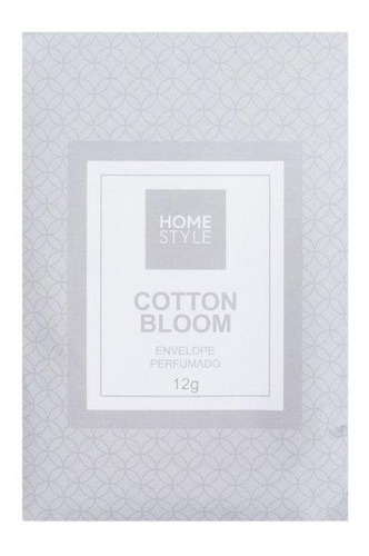 Aromatizador Envelope Cotton Bloom 12 G - Home Style