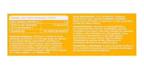 redoxon vitamina c ingredientes