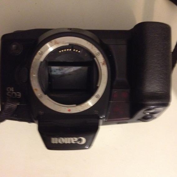 Câmera Fotográfica Canon Eos10 Analógica De Filme 35mm