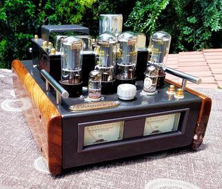 Amplificador Valvular Estereo 40w+40w 6l6gc Krapacher