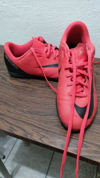 Chuteira Futsal Infantil Nike Mercurial Cr7