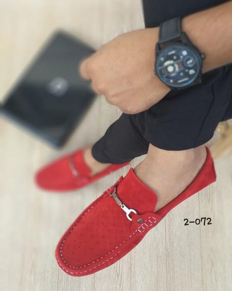 Zapato Mocasin Importado De Caballero