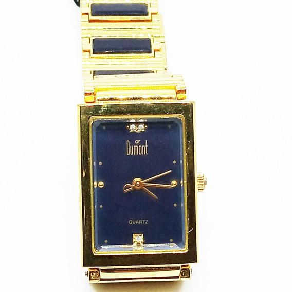Lindo Relógio Dumont Unissex Dourado