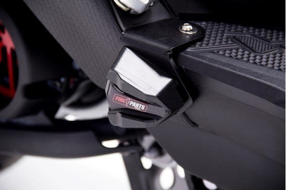 Slider Trasero Yamaha Bws 125 Fi (fuel Inyection) Fire Parts