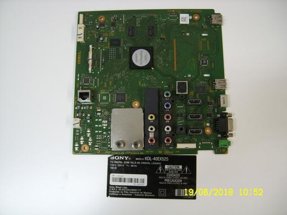 Placa Principal Tv Sony Kdl40ex525 Funcionando R$289,00