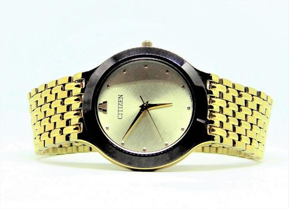 Reloj Citizen Caballero Colección Azteca Como Nuevo $1750