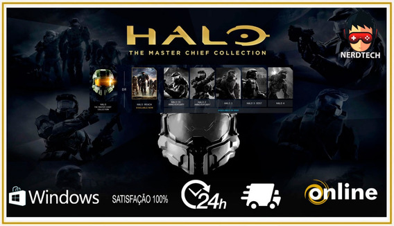 Halo The Master Chief Collection Pc Original Digital