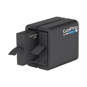 Gopro Ahbbp-401 Carregador Duplo + Batería P/ Hero 4 Silv/bk