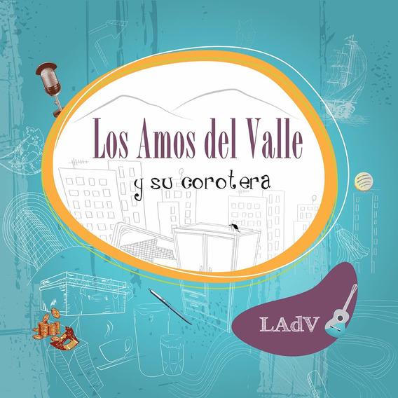 Cd Música Latina Amos Del Valle Y Su Corotera (digital)