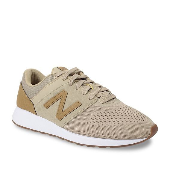 Tênis Masculino Casual New Balance Running - Bege/caramelo