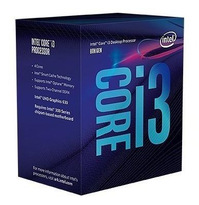 Processador Intel Core I3-8300 3.70ghz 8mb Lga1151 8 Geração