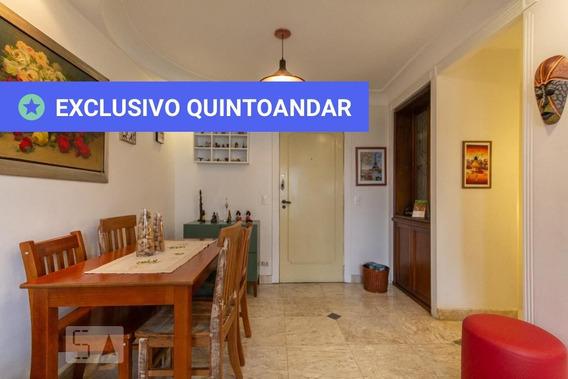 Apartamento No 9º Andar Com 1 Dormitório E 1 Garagem - Id: 892968201 - 268201