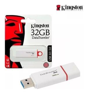 Memoria Usb Kingston 32 Gb 3.0 Metalica/roja Dt50 1 Año Gtia