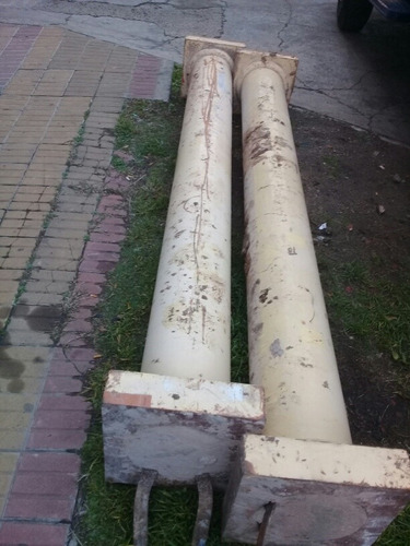 Columna De Hierro Con Base