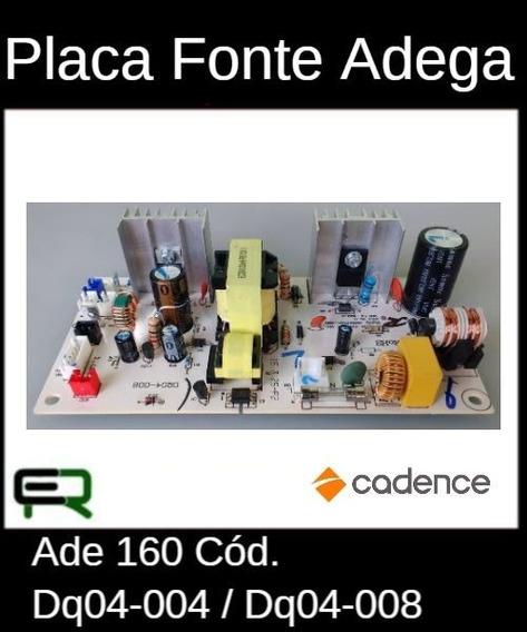 Placa Fonte Adega Cadence Ade 160 Cód. Dq04-004 / Dq04-008