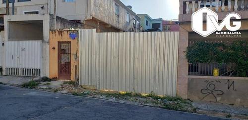 Imagem 1 de 3 de Terreno À Venda, 200 M² Por R$ 330.000,04 - Vila Capitão Rabelo - Guarulhos/sp - Te0240