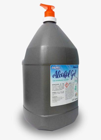 Gel Antibacterial 4 Litros Caja Con 4 Piezas. C/ Dosificador