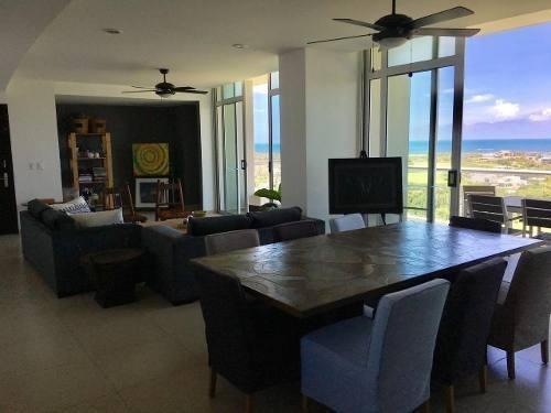 Espectacular Departamento Venta Con Vista Al Mar Pto Cancun