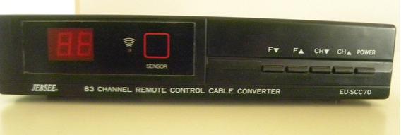 Sintonizador Channel Remote Control Cable Converter