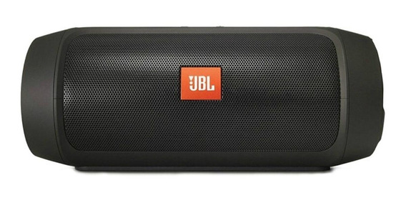 Caixa de som JBL Charge 2+ portátil sem fio Black
