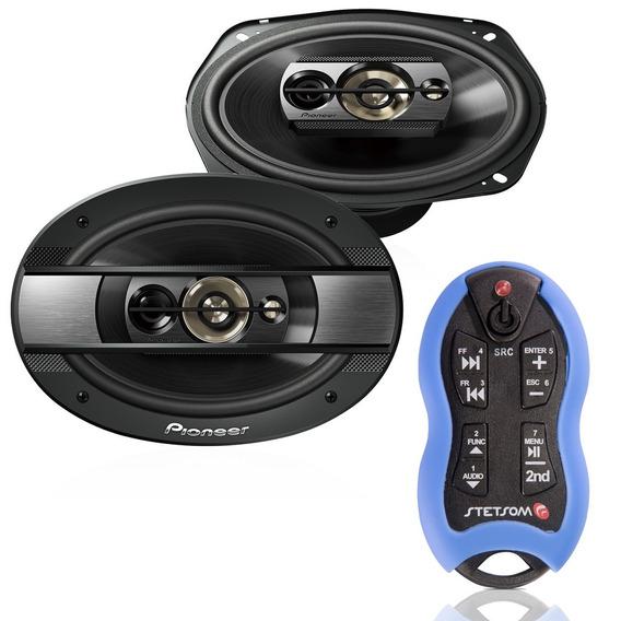 Controle Longa Distância Sx2 + Par Alto Falantes Pioneer 6x9