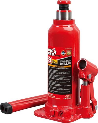 Gato Hidraulico De Botella 8 Ton Big Red Imp Cod: 6525173