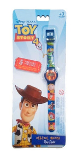 Reloj Digital Toy Story 4 Woody Buzz Intek