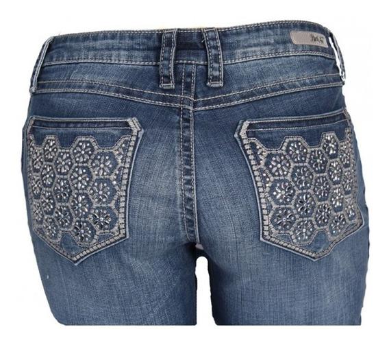 Calça Jeans Feminina Wrangler Importada Rock47 Bordada