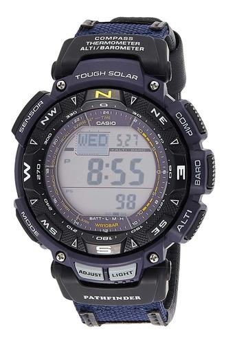 Imagen 1 de 6 de Reloj Digital Casio Pag-240b-2cr, Deportivo, Solar, 51mm