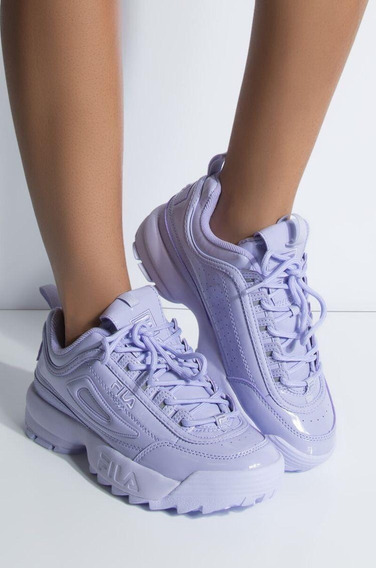 Tenis Zapatillas Fila Disruptor 2 Dama Mujer Varios Colores