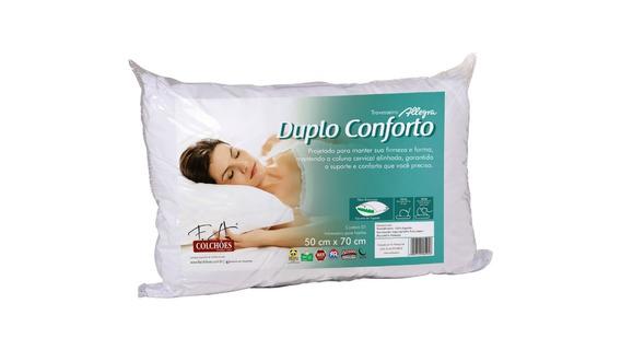 Travesseiro Allegra Duplo Conforto