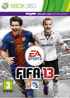 Fifa 13 Xbox 360 -- Disco Fisico
