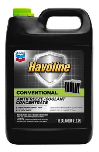 Liquido Refrigerante Concentrado Havoline Coolant 3.8 Lt Usa