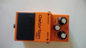 Pedal Boss Distortion Ds-1 + Fonte Boss Psa-120zs