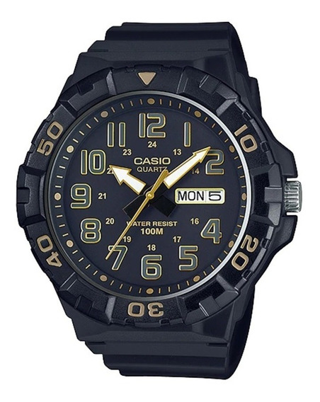 Relógio Casio Mundial Masculino Mrw-210h-1a2vdf
