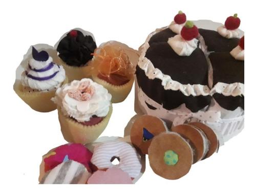 Torta De Juguete,set Merienda. Niños Comida De Juguete
