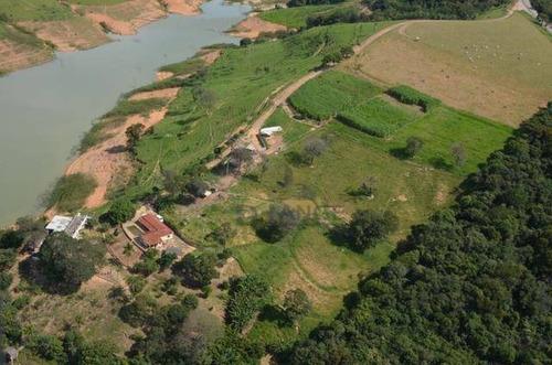 Sítio À Venda, 435600 M² Por R$ 3.700.000,00 - Fly In Village Escarpas Internacional - Escarpas/mg - Si0052