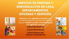 Servicio De Pintura Para Casas, Apartamento, Edificios, Ofic