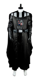 Roupa Fantasia Darth Vader Star Wars Cosplay Halloween