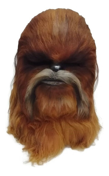 Chewbacca Mascara Peluda Star Wars Calidad Halloween Disfraz
