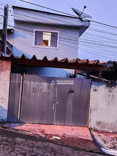 Sobrado À Venda No Jardim Novo Parelheiros - So3502