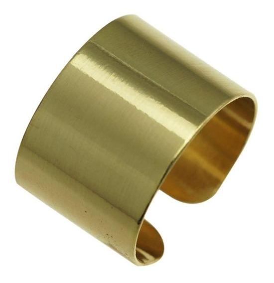 Anel Dourado- Metal Liso